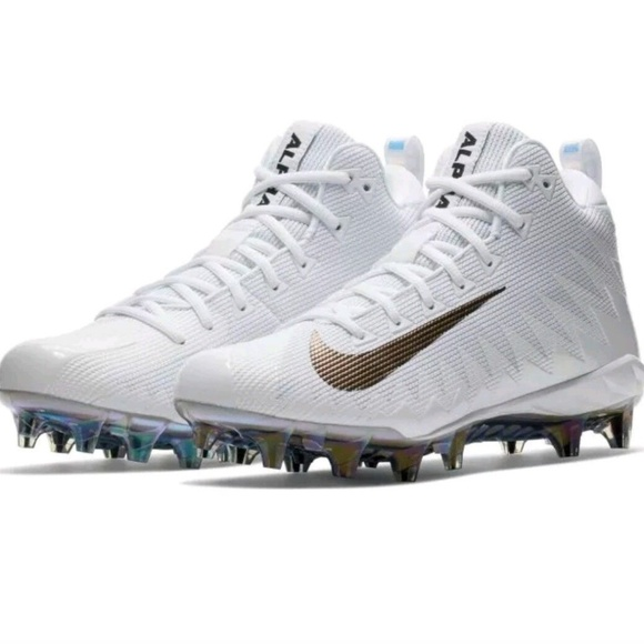 5626ab50c15 NEW Nike Alpha Menace Pro Mid Football Cleats Sz 9.  M 5b5bc5159539f75def77c664